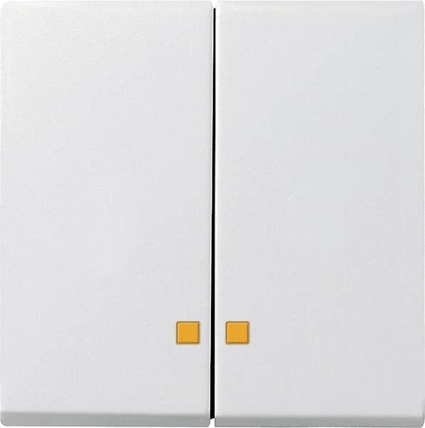 GIRA  063103 Serienwippen Kontrollfenster System 55 reinweiß