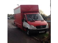 MAN AND VAN HOUSE REMOVALS FURNITURE REMOVALS LARGE LUTON VAN UK AND EUROPE