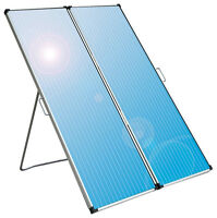30W 12 V Foldable Solar Panel with Battery Controller, New