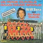 Single vinyl / 7 inch - Will Tura - De Rode Duivels Gaan N..