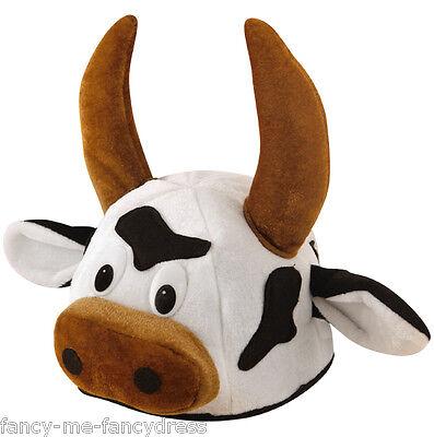 Herren Damen Bulle Tier Kuh Spanisch Kostüm Kleid Outfit Hut Zubehör