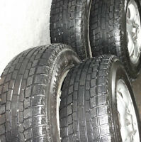 CRV-2000 Winter Tire with alloy wheels/ Pneus d'hiver avec jante