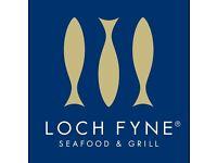 Loch Fyne Wokingham are hiring a CDP
