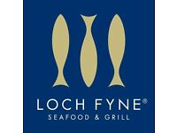 Part-time/Full-time Waiting staff - Loch Fyne Wokingham