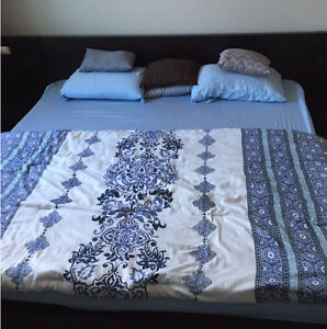 Ikea king size bed and firm foam mattress
