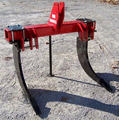 New Dirt Dog 2 Shank Hd Subsoiler For 3pt. Ship So Cheap You Wont Believe It.