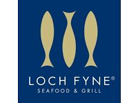 Waiting Staff Required - Full and Part time Positions