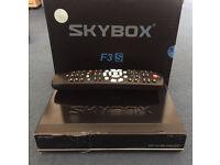 SKYBOX F3 SATELLITE RECEIVER HDMI USB