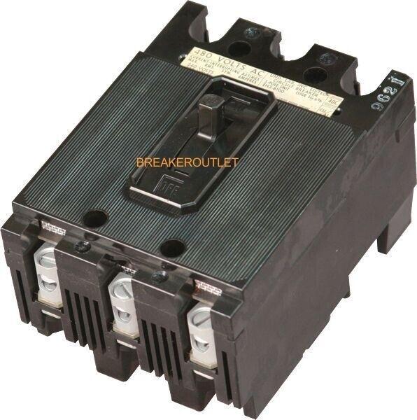 EE3B100 ET 240V Circuit Breaker I-T-E Imperial Corp. Gould