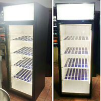 Commercial Used Glass Pop Coolers / Fridges / Refrigerators