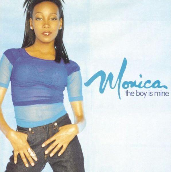 MONICA : BOY IS MINE (CD) sealed