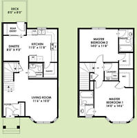 MONTANA Model - New Construction at South East, Laurel Crossing