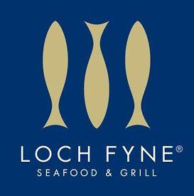 Loch Fyne Farnham are hiring a CDP
