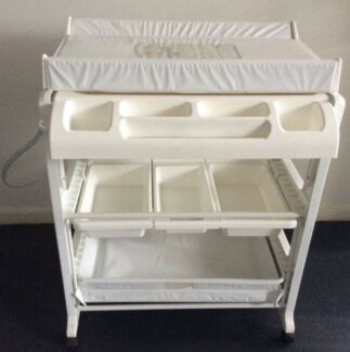 Baby Change Table With Bath Tub   Free Delivery Available