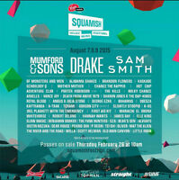 Squamish Valley Music Festival, Camping Included