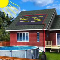 Pool solar water heater panels made in Canada-new-warranty
