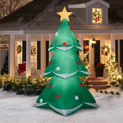 10 Ft Christmas Tree with Star Gemmy Christmas Inflatable