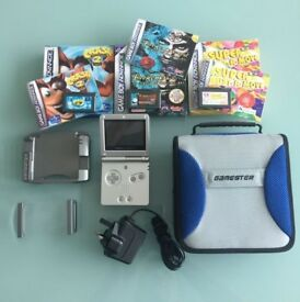 Nintendo Gameboy Advance SP (silver)