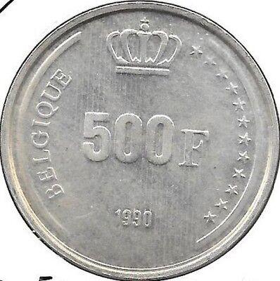 500 Francs argent 1990 Francais