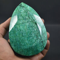 Stupendous 3095Ct Natural Pear Cut Earth Mined Colombian Emerald