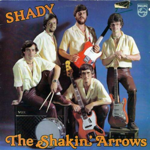 LP gebruikt - The Shakin' Arrows - Shady