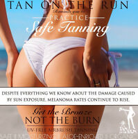 Tan without the damage!