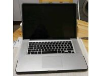 """MacBook Pro 15""""   250GB HD   4GB RAM   Core 2 Duo   Will also swap for iPhone"""