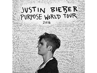 JUSTIN BIEBER Wednesday, 26 October 2016 18:30 Sheffield x2