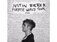 Justin Bieber VIP Ticket