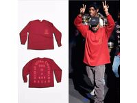 "Kanye West Yeezy ""I Feel Like Pablo"" Long Sleeve"