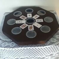 Hand Crafted Rummoli Boards with Lazy Susan Feature