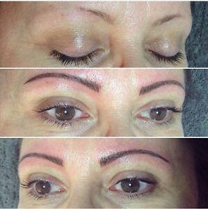 Certified Microblading Technician, eyebrow cosmetic tattoo London Ontario image 2