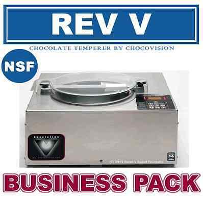 Chocovsion Revolation V Rev V Chocolate Tempering Machine Business Package