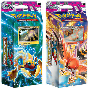 Pokemon XY PHANTOM FORCES Deck