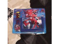 Brand new Spider-Man watch and wallet set. Ideal gift.