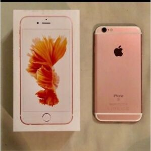 Rose gold iPhone 6s***