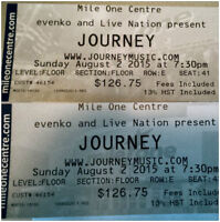 5th ROW x2 - Journey - Mile One - St. John's, NL - August 2