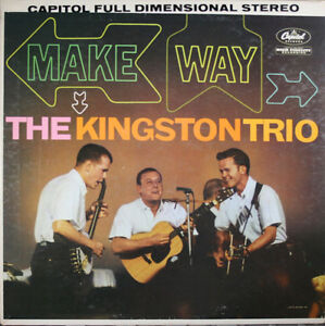The Kingston Trio Folk LPs