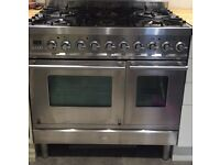 Range cooker/oven 90cm gas hob electric oven