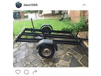 X3 motorcycle trailer for sale