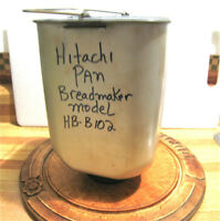 Breadmaker pan, with paddle, $30, Model HB-B102, Hitachi
