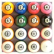 Brunswick Pool Billiard Balls