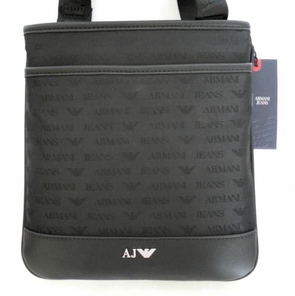 armani jeans aj cc993 messenger shoulder bag black model man 4d756d133c7af