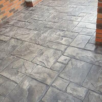 Set 3pcs Stone Decorative Stamp For Concrete Cut Stone 123 Floor And Tracks