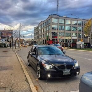 Immaculate BMW 545i fully loaded 160km with winter tires