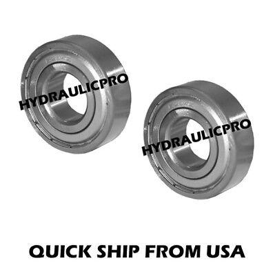 Qty 2 6203zz Ball Bearing 6203-zz 6203z 6203 Shielded 17x40x12
