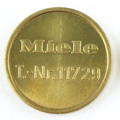 50 Original Miele 11729 Trocknermarken/Trocknermünzen/Waschmarken/Münzen NEU