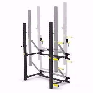 Armortech V2 Wall Mounted Fold up Squat Rack, Heavy Duty Malaga Swan Area Preview
