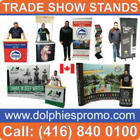 ANY Trade Show Retractable Banner Stands Pop Up Booths Displays