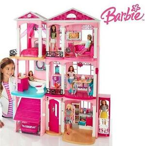 NEW* BARBIE DREAM HOUSE - 110107679 - TOYS  GAMES - DOLLS AND ACCESSORIES - PLAYSETS